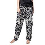 elephant pants black
