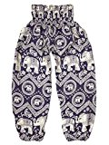 elephant pants blue