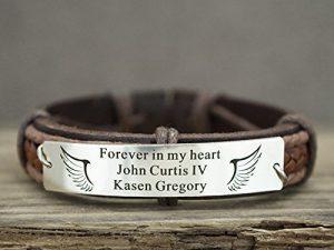 mens grief bracelet