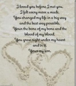 I miss you son